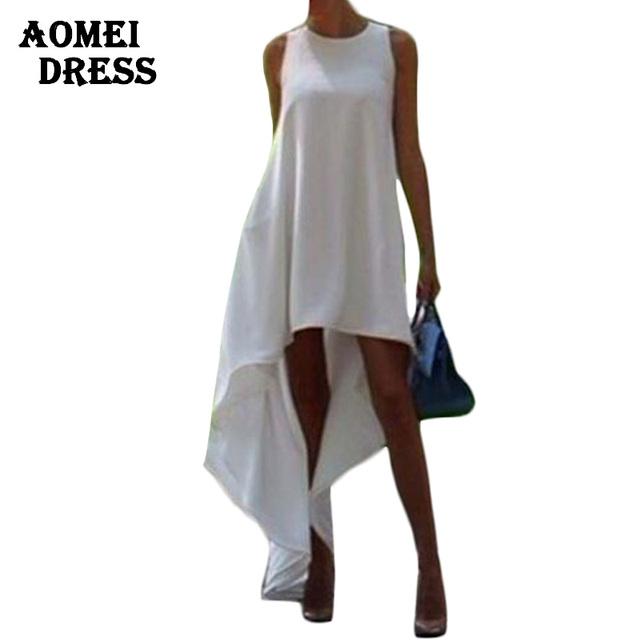 С . м . 3XL 5XL летом богемной белый нерегулярные пляж платье широкий вспышки туника женский рукавов пляжная Boho платья платья