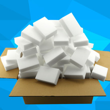 100pcs/lot White Magic Sponge Eraser Melamine Cleaner Multi-functional Cleaning 100x60x20mm Wholesale & Retail(China (Mainland))