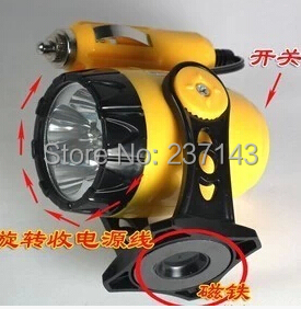 Mini Car Magnets Work Light Yellow Repair Emergency 5 LED light with manget base Car Repair Led light Multi-angle adjustment(China (Mainland))