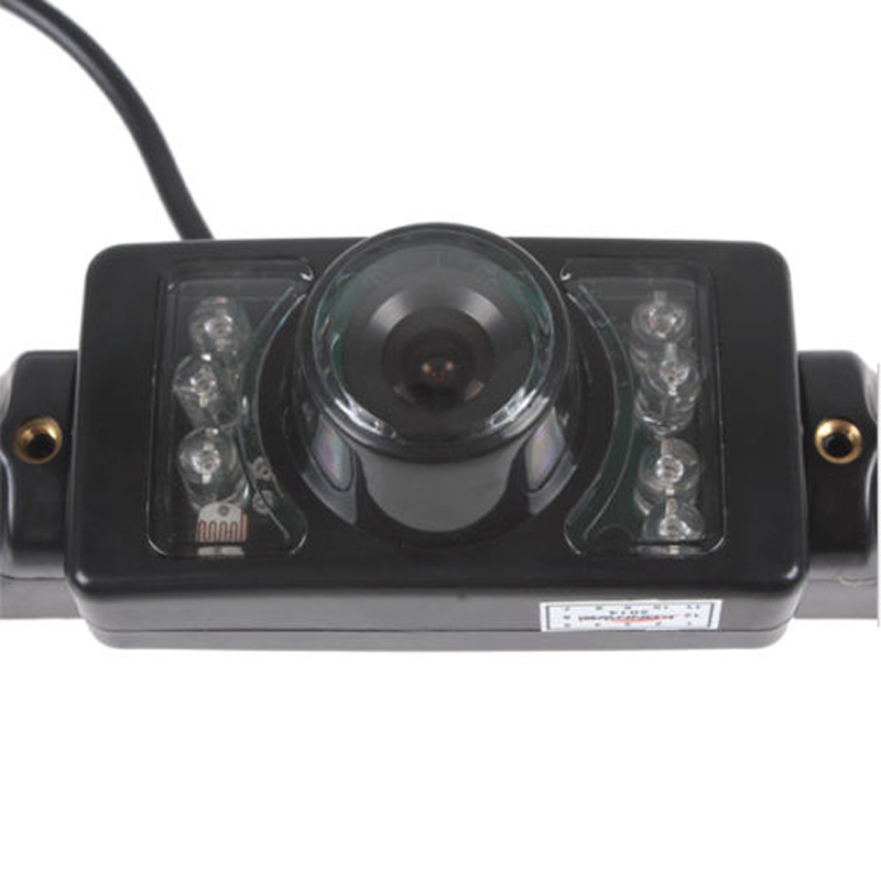 1pc 170 Degree Auto Parking System Long License Plate Car Reverse Back Up Parking IR LEDS Infrared Night Vision Rear View Camera(China (Mainland))