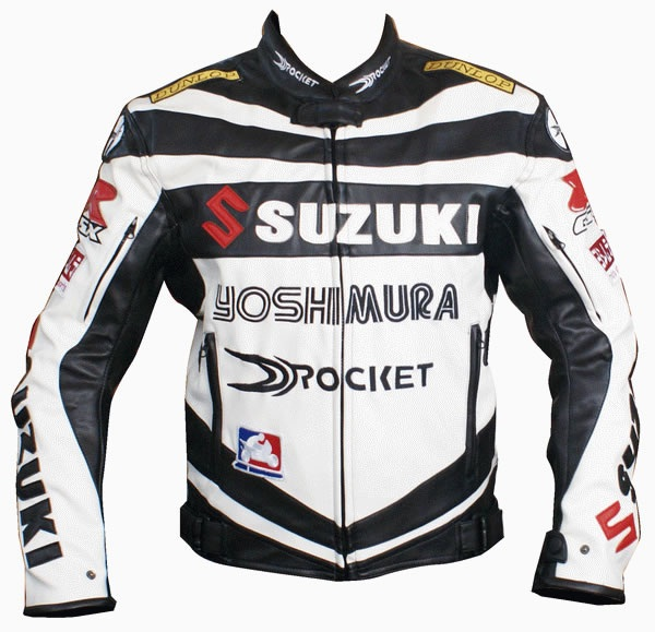 Joe Rocket Suzuki Gsxr Leather Jacket