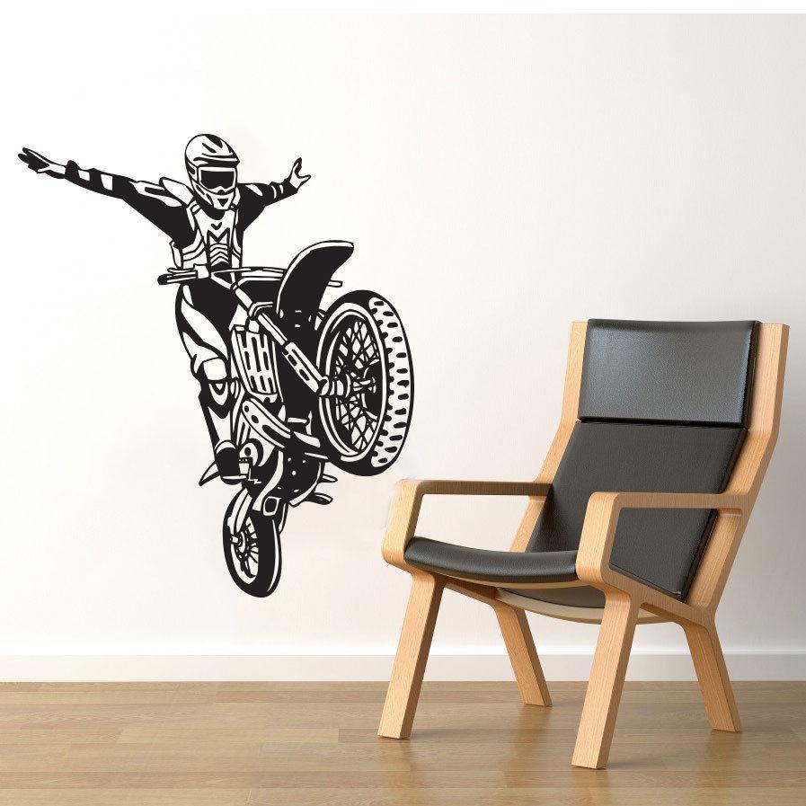 Motocross Bedroom Decor Online Buy Wholesale Motocross Room Decoration From China