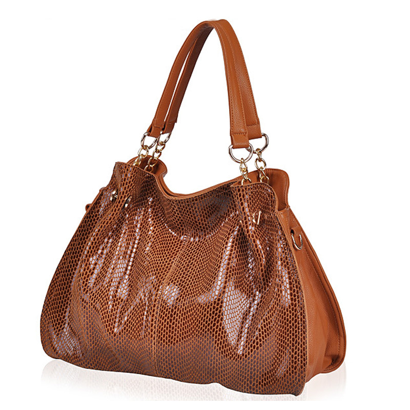 Autumn and winter leather handbag designer handbags Fashion one shoulder bag serpentine women messenger bag ladies bag O1031(China (Mainland))