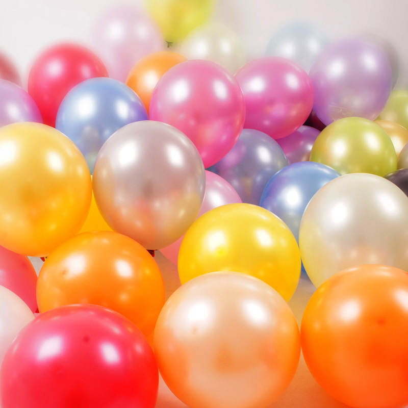 Silver Gold Balloons 20 pc 12 Inch Pearl Color Latex Balloons 3.2 g Birthday Decorations Party Ballon Decoration Globes Purple(China (Mainland))
