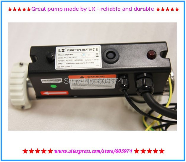 3KW spa heater - LX H30-R2 hot tub heater - L-Shape H30-R2 3KW LX Chinese Heater For Hot Tubs And Spas(China (Mainland))
