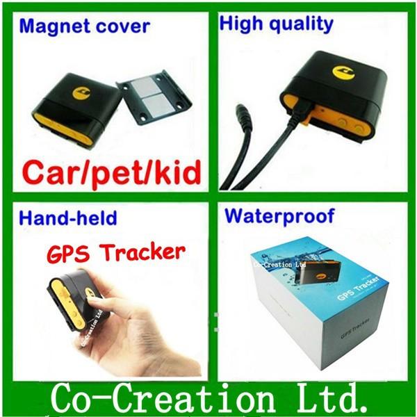 Long Battery and Sleep model Mini GPRS GSM GPS Person Tracker----Waterproof GPS Tracking Device/Child GPS Tracker Collar(China (Mainland))