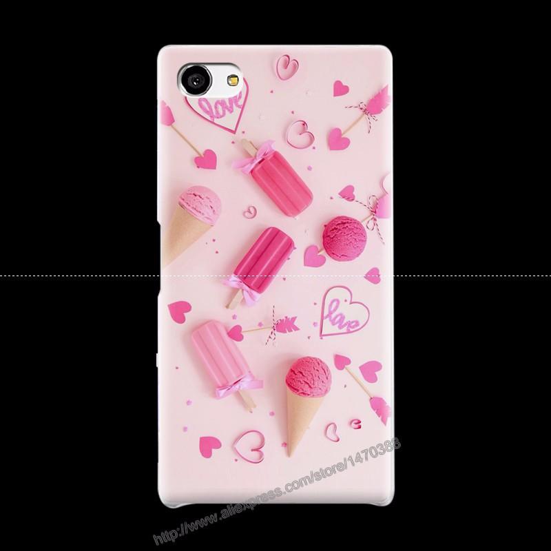 Горячие Новые Пластиковые Матовый Прозрачный Чехол для Sony Xperia Z5mini телефон 11