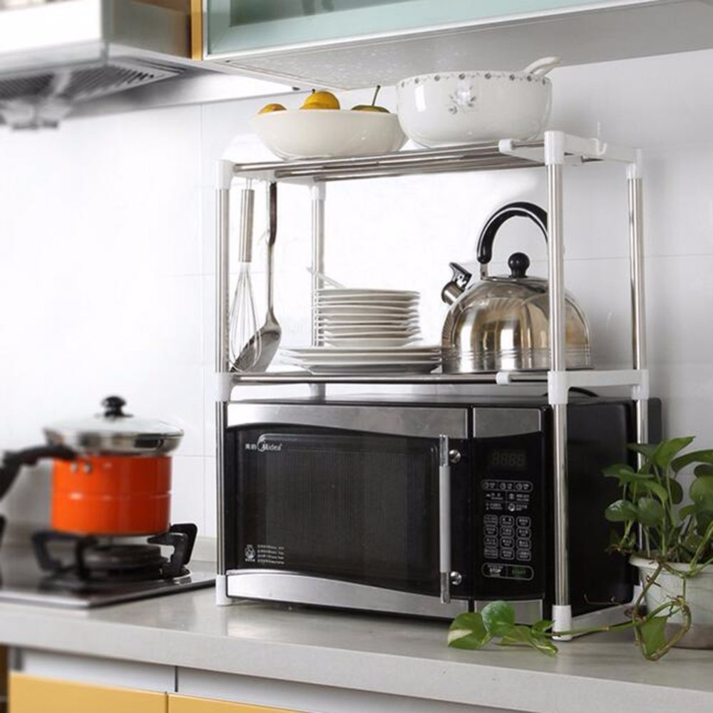 Compra horno microondas estante online al por mayor de china mayoristas de horno microondas - Estante microondas ...
