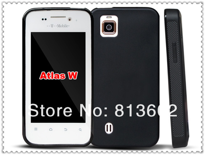 Atlas W TPU Gel Back Case,For ZTE Atlas W Cell Phone Anti-skid Style Skin Protective Case Via Free DHL,High Quality(China (Mainland))