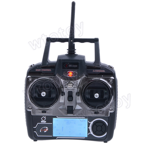 "4Ch 2.7"" LCD Transmitter/ Controller Set Parts For WLToys V911 V912 V929 V939 V949 RC Helicopter"