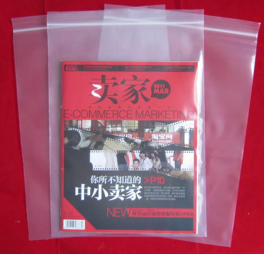 23*33cm 16C Huge size, plastic zip lock bag , waterproof zip bag , sealing bag plastic(China (Mainland))