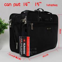 Numanni Business briefcase large capacity men's bag Oxford cloth Computer Bag Laptop Bag single shoulder bag(China (Mainland))