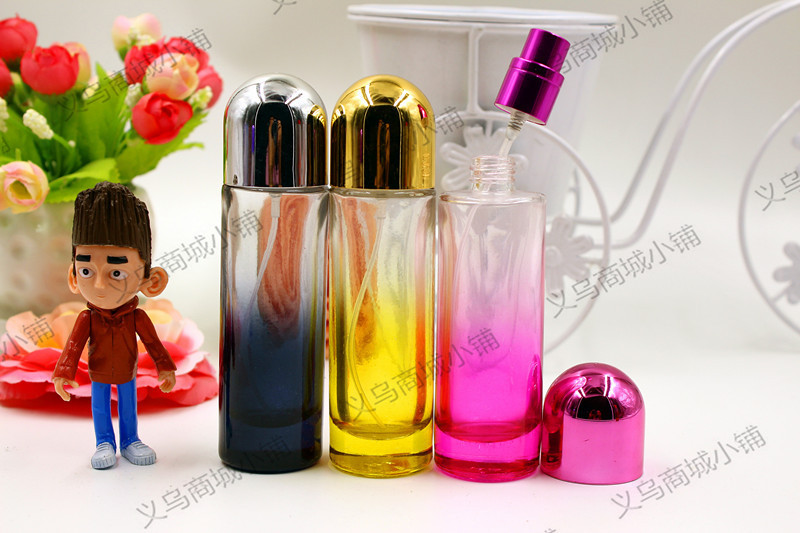 30 ml fifth avenue perfume essential perfume bottles Stained glass spray bottles(China (Mainland))