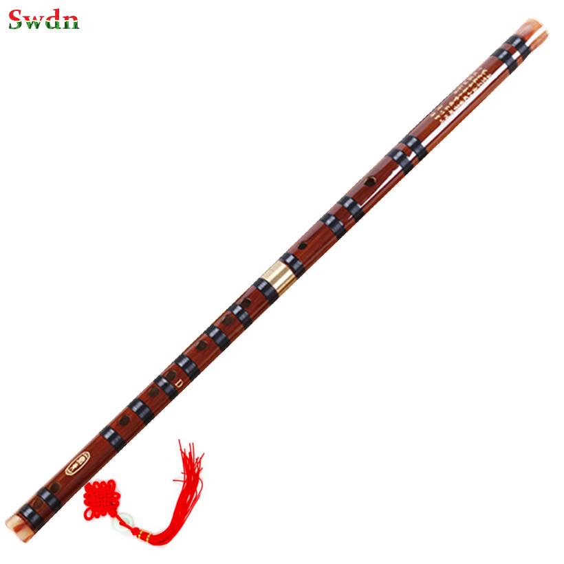 2016 New Chinese Bamboo flauta Natural bamboo flute national musical instruments Professional dizi flauto not panpipes nay huilu(China (Mainland))