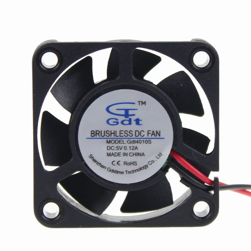 5PCS/Lot GDT 5V 2pin DC Cooler 4010 40mm 40x40x10mm 4CM Cooling Fan(China (Mainland))