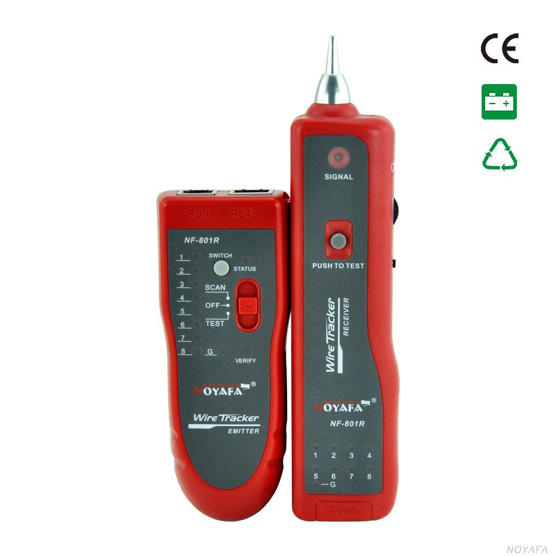 CCTV BNC cable tester Wire Tracker Cable Scanner UTP/STP RJ45/ RJ11 / metal cable testing Tracer Toner Line Finder Tools(China (Mainland))