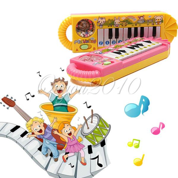 2015 Hot Sale New Popular 0-7 ages Baby Early Educational Developmental Electrical Kids Children Piano Music Toy Useful(China (Mainland))