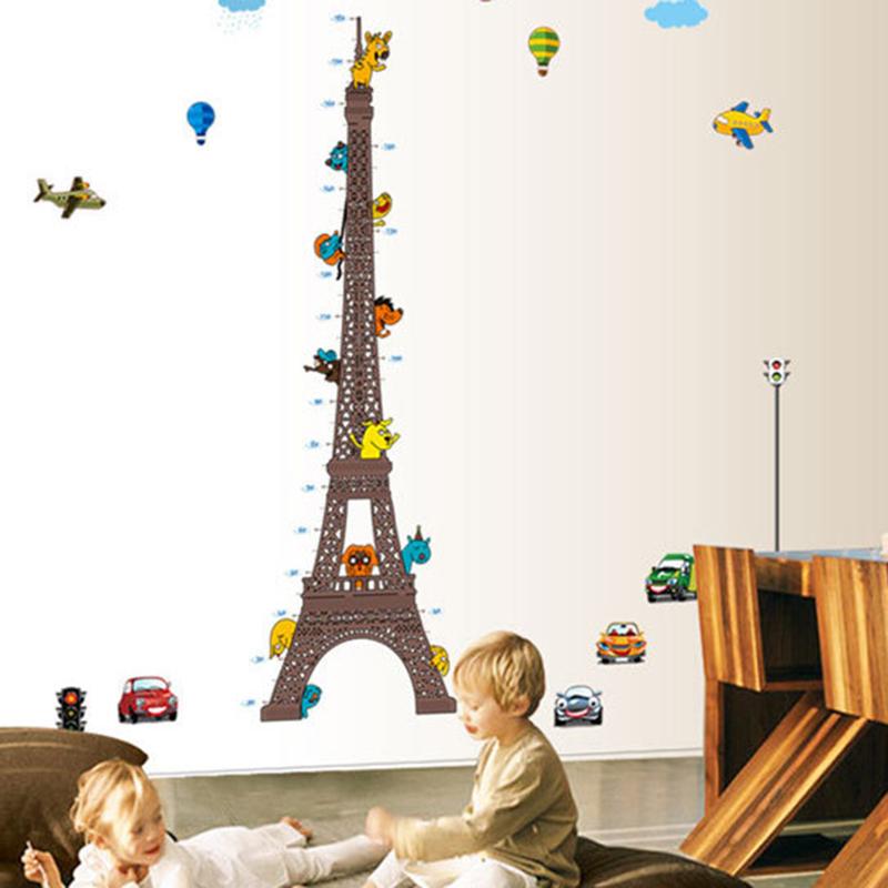 Buy Eiffel Tower Height Stickers Diy