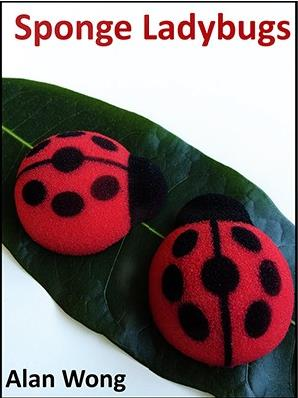 Free shipping 2015 NEW Magic Sponge Lady Bugs by Alan Wong - Trick (four in pack),Fun Magic,Accessories,Stage Magic,Gimmick,Prop<br><br>Aliexpress