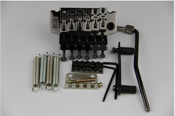 Floyd Rose Tremolo Bridge Black ESP Guitar Parts Floyd Rose Double Locking Tremolo Bridge(China (Mainland))