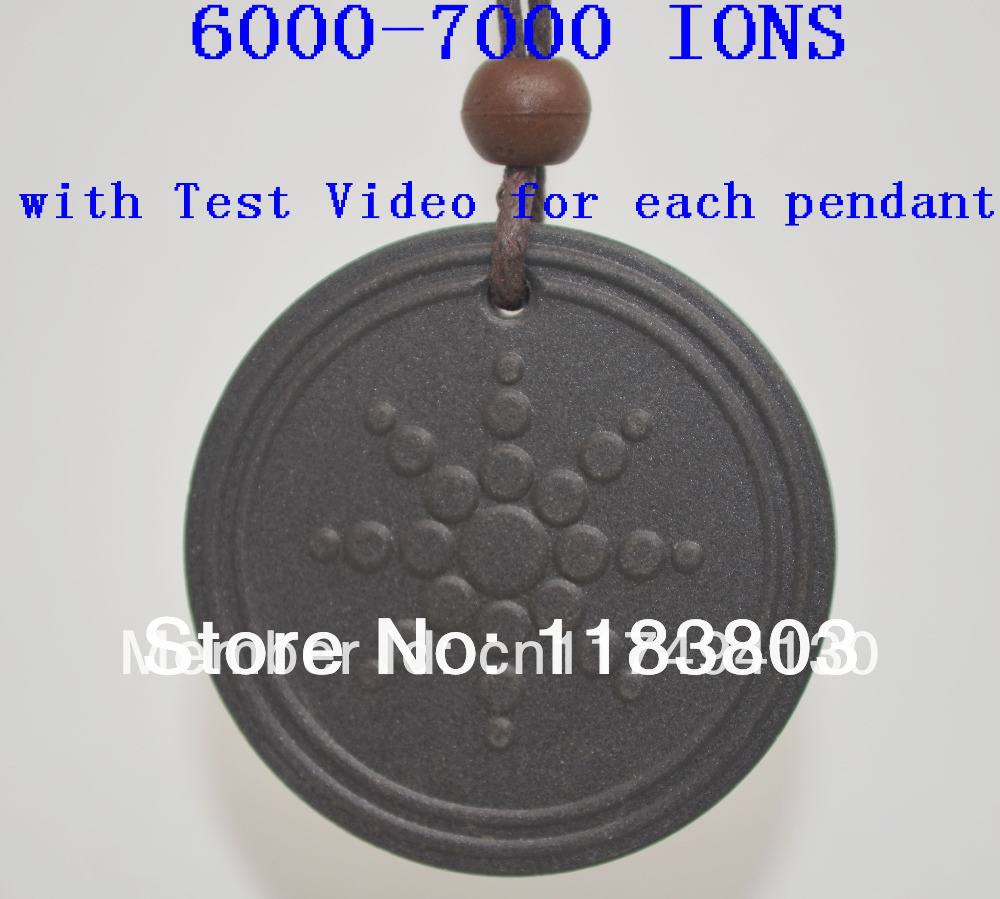 free shipping Quantum Scalar Energy Pendant 6000 - 7000 ions with Test Video most powerful(China (Mainland))