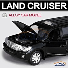 Original TOYOTA Land Cruiser PRADO Model 1:32 Alloy Car Model Excellent car toy Gift High Simulation Exquisite Model Toy VB32133(China (Mainland))