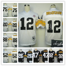 ALL Style Signature ! New arrival,Pittsburgh Steelers #32 Franco Harris Ben Roethlisberger Terry Bradshaw wallace Le'Veon Bell(China (Mainland))