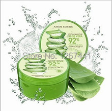 Buy Face Care NATURE REPUBLIC Aloe Vera 92% Soothing Gel Cream 300ml/10.56 fl.oz. Sun Repair Soothing&Moisture Whitening Mask for $10.43 in AliExpress store