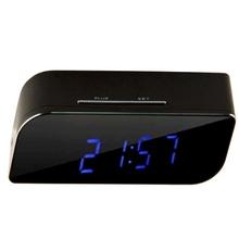 P2P Network Mini IP Camera H.264 HD 720P Wifi Clock Camera, Support Night Vision / Motion Detection