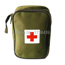 New Portable first aid kit Outdoor Travel kit Camping Emergency Survival kit military Big Car first aid kit bag(China (Mainland))