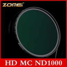 Zomei 10-stop/ND1000 Ultra Slim HD Multi-Coated Neutral Density ND1000 Filter 52/58/67/72/77/82mm For  Digital Camera Lens