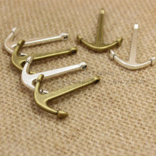 Buy PULCHRITUDE (20 pieces/lot) 25*36mm Vintage Metal Alloy Nautical Anchor Charms Jewelry Anchor Pendants T0234 for $4.10 in AliExpress store