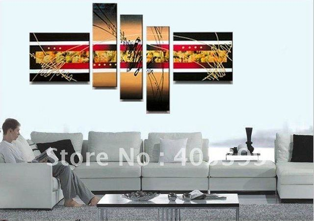Free shipping ,Huge  Modern Abstract Oil Painting on Canvas ,House Decoration Painting JYJLV166
