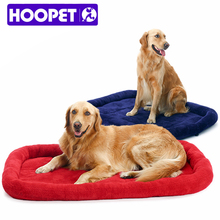 Big Dog beds for large dogs warm super huge dog mattress cushion house kennel pad manufacturers selling small XL sized red  blue