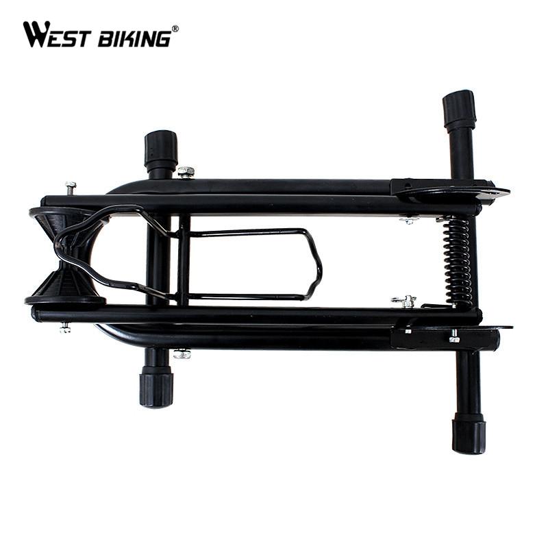 Folding L Double Rod Bicycle Parking Racks MTB Bike Display Repair Stand Adjustable Cycling Racks Maintenance Supporting Frame(China (Mainland))