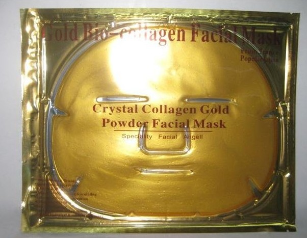 Free shipping Whtening Gold Crystal collagen facial Masks face care products firming face mask wholesale skin care products