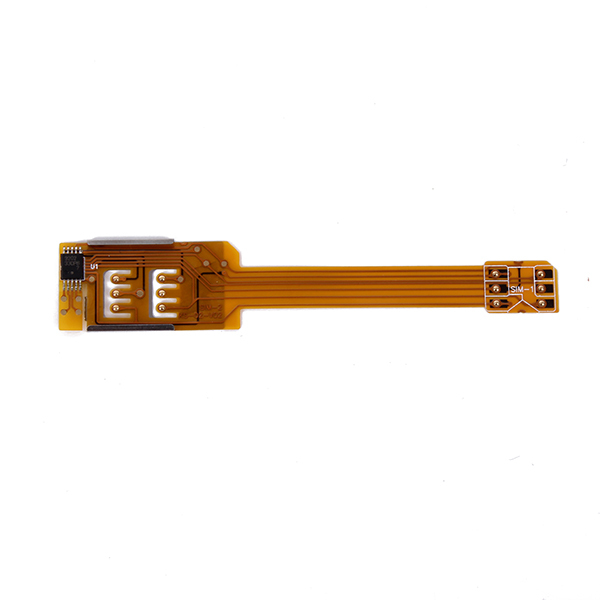 For Apple iPhone 5 5S 5C Dual Sim Card Adapter Single Standby Flex Cable Ribbon Free&Drop Shipping