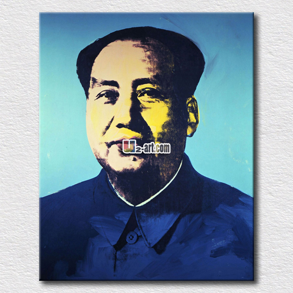 Commemorative painting of China leader Mao for living room decoration high quality wall pictures(China (Mainland))