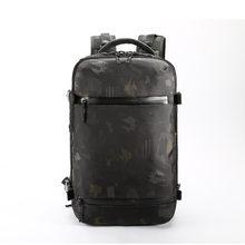 """Ozuko novos homens mochila para 15 """"17"""" mochilas portátil repelente de água multifuncional saco de carregamento usb mochila viagem grande mochila(China)"""
