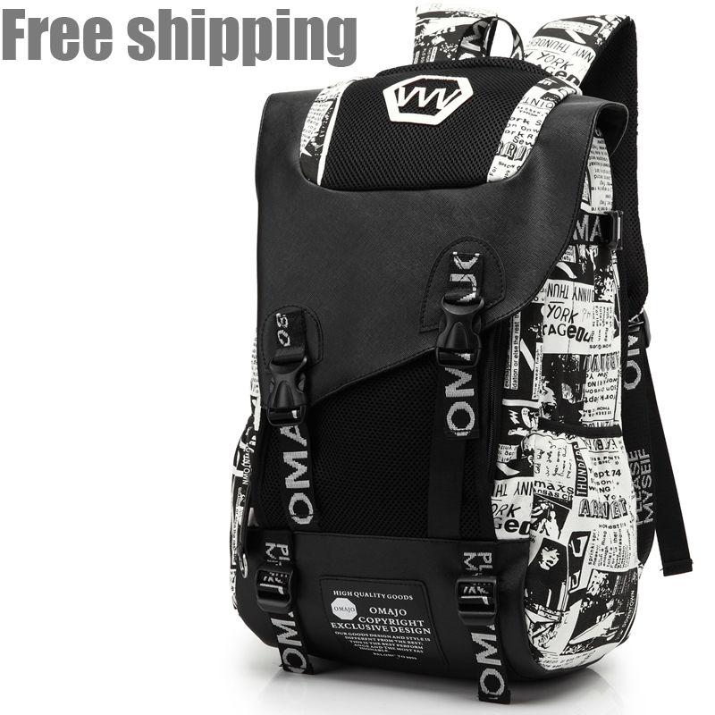 2015 shoulder bag backpack large bag waterproof outdoor mountaineering backpack male and female students bag computer bag(China (Mainland))