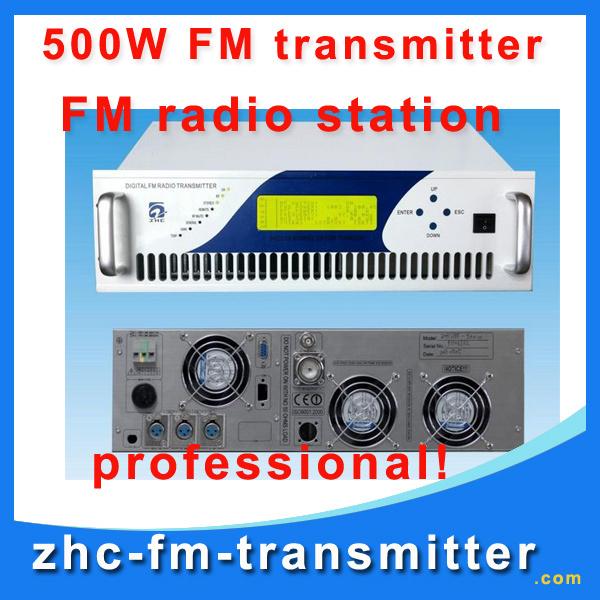 ZHC618F-1000W professional fm transmitter station fm radio station wireless transmitter(China (Mainland))