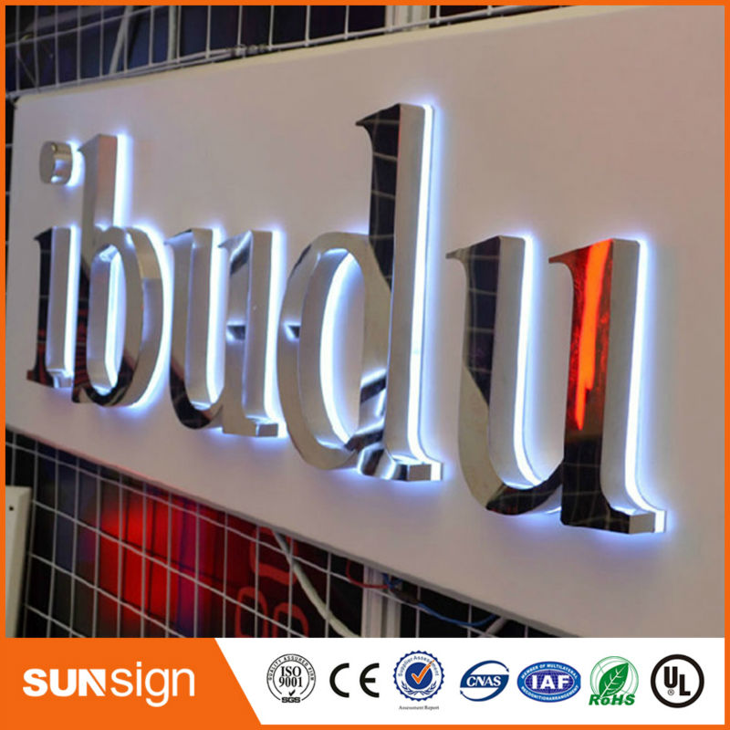 Acrylic Box Letters : Popular lighted sign box buy cheap lots