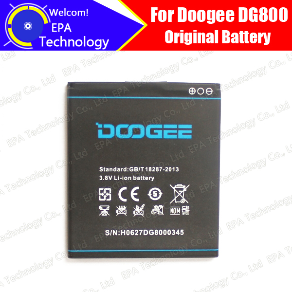 100% Original New 2000mAh Li-ion Battery Replacement for Doogee Valencia DG800 Smartphone(China (Mainland))