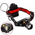 Mini headlamp Q5 led edc head lamp Zoomable linterna frontal 1200 Lumen Head Lamp use 3AAA