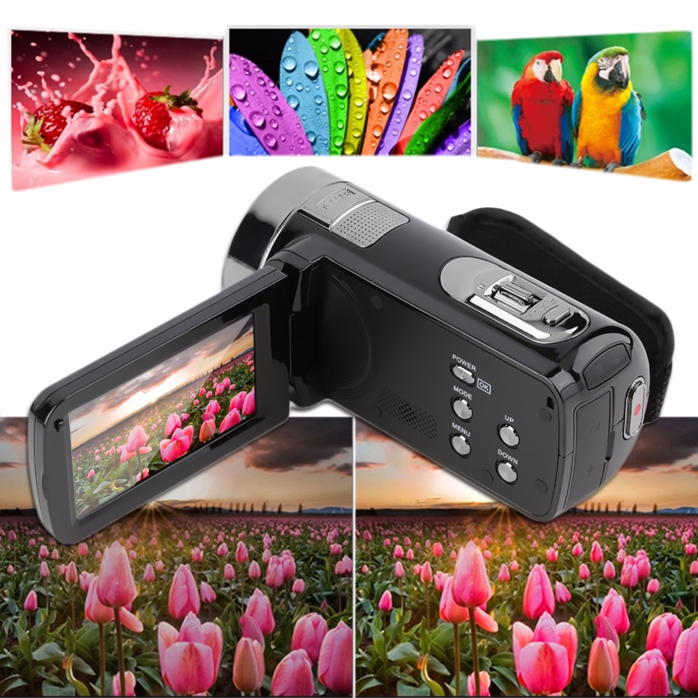 In Stock! 3.0 inch FHD 1080P 16X Optical Zoom 24MP Digital Video Camera Camcorder DV NEW<br><br>Aliexpress