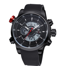 2016 Selling Brand Weide 30m Waterproof Japan Movement Watches High quality Leather Rubber Band&Stainless Steel CaseFor Men 3401