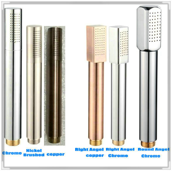 Bathroom accessories copper shower nozzle handheld water for Copper in shower water