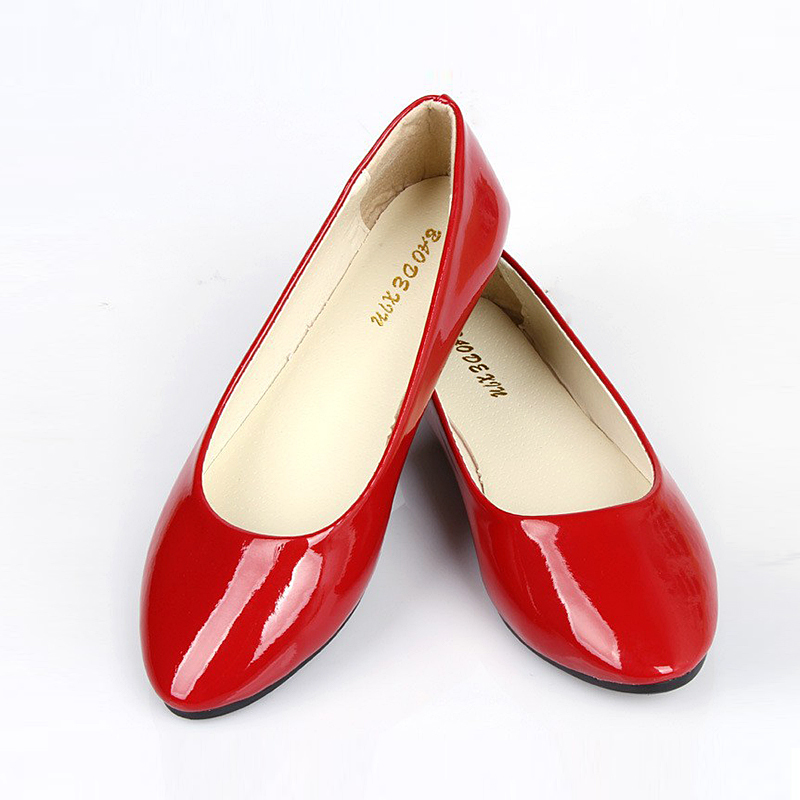 2015 Candy Color Women Flats Shoes Fashion Casual Zapatos Mujer Women's Shoes