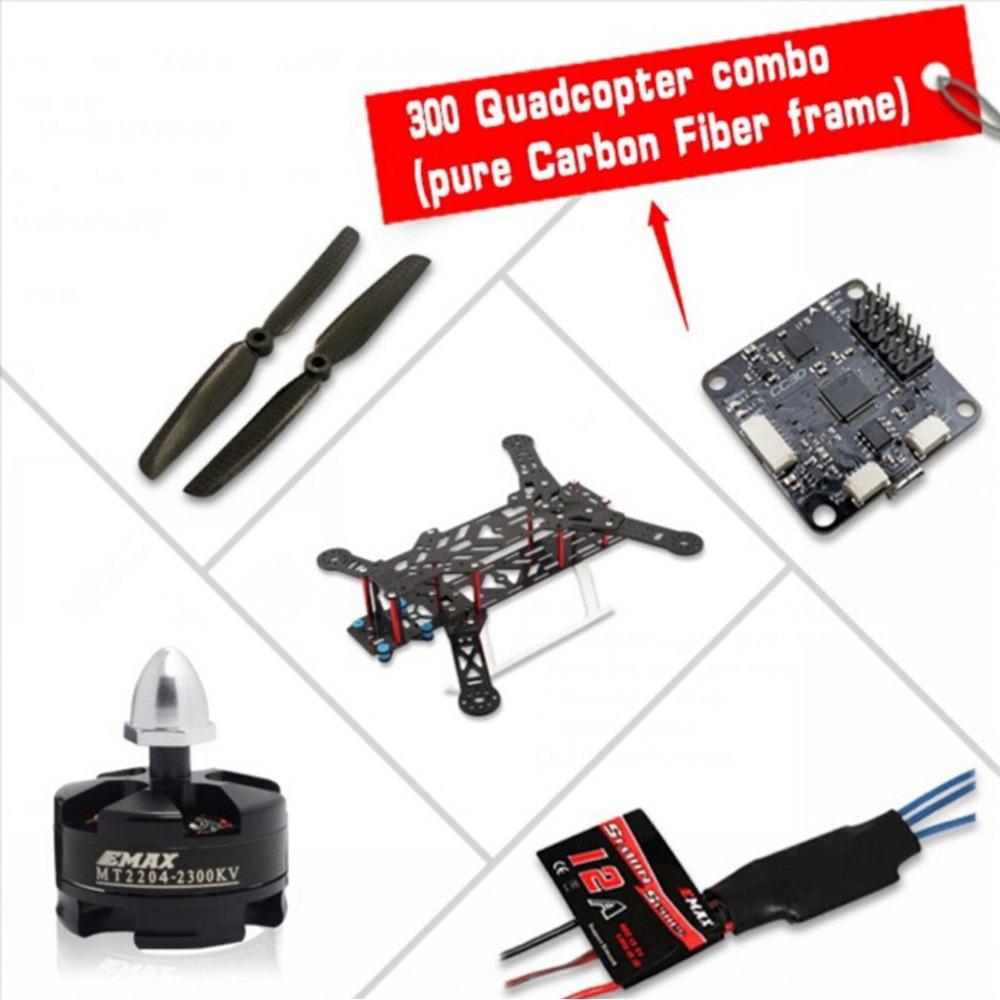 EMAX 300 Transformer Quadcopter Combo 12A ESC MT2204 2300KV Motor CC3D...<br><br>Aliexpress