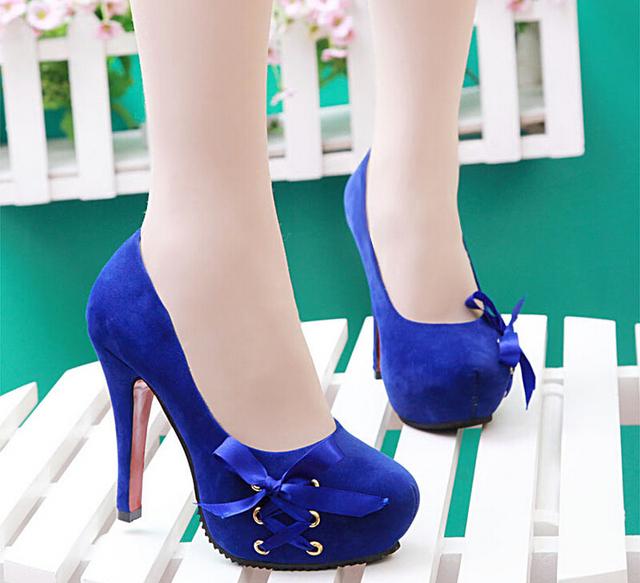 Г-жа высокая туфли на высоком каблуке обувь мелкий рот женщины синглов обувь увеличился ...
